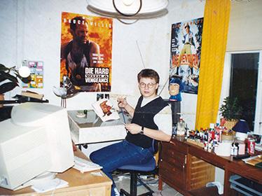 David as young